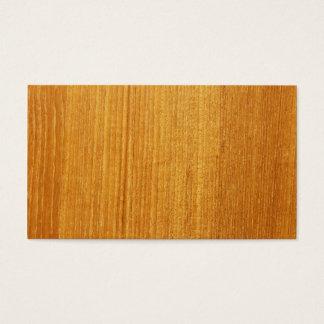 Wood Grain Pattern Business Card