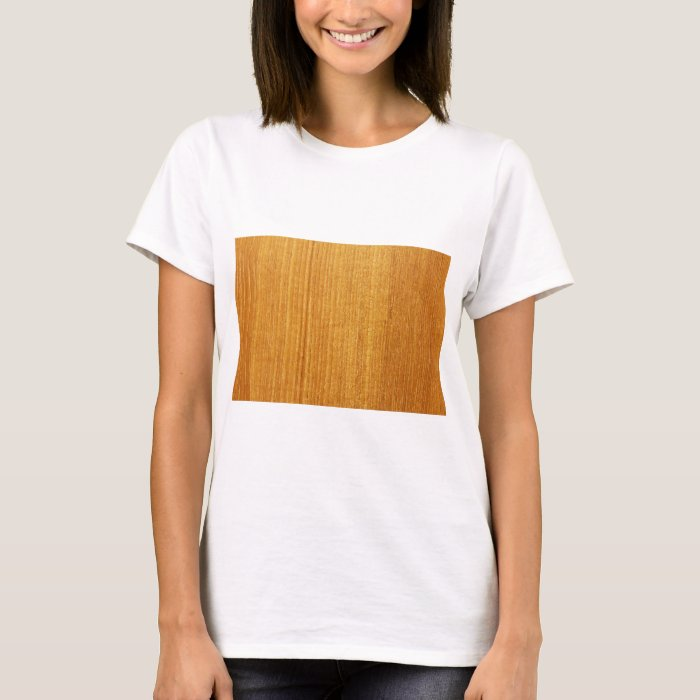 Wood Grain Pattern T-Shirt