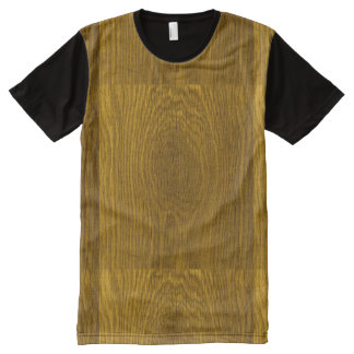 Wood Grain Picture All-Over-Print Shirt