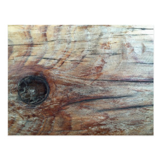 Wood grain postcard