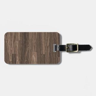 Wood Grain Print, Wood Grain Pattern, Wood Design Bag Tag