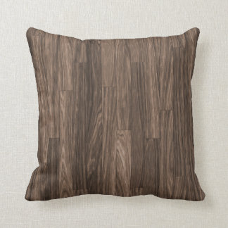 Wood Grain Print, Wood Grain Pattern, Wood Design Throw Pillows