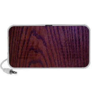 Wood grain speakers
