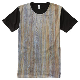 Wood Grain Texture #3 All-Over Print T-shirt