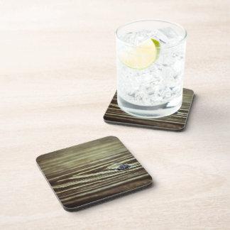 Wood Grain Texture Beverage Coaster