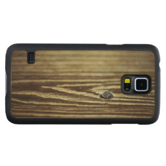Wood Grain Texture Carved Maple Galaxy S5 Case