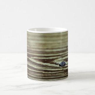 Wood Grain Texture Coffee Mug