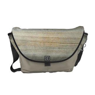 Wood Grain Texture Courier Bag