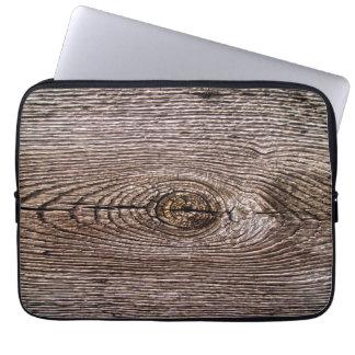Wood Grain Texture Laptop Sleeve