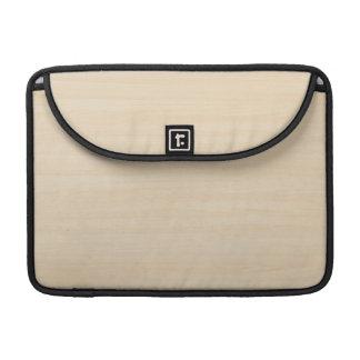 Wood Grain Texture MacBook Pro Sleeve