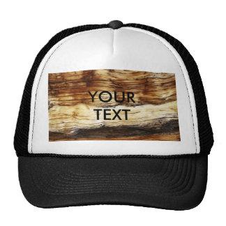 WOOD GRAIN TRUCKER HAT