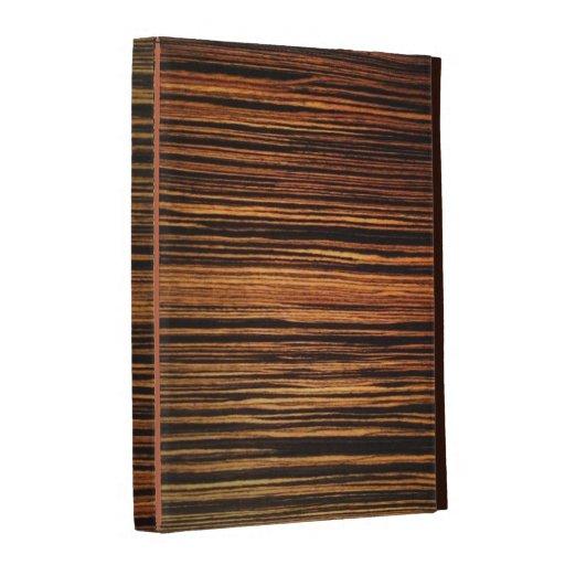 Wood Grain Veneer iPad Case