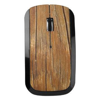Wood Grain Wireless Mouse