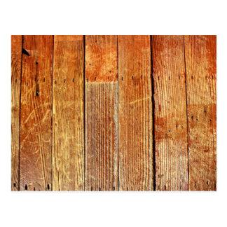 Wood (Hardwood) Floor Texture Postcard