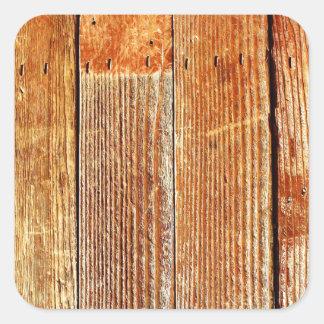 Wood (Hardwood) Floor Texture Square Stickers