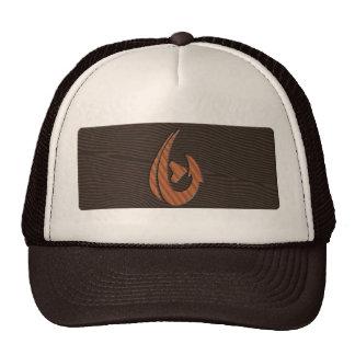 Wood Hawaiian Hook Trucker Hat