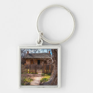 Wood Home - Grafton Ghost Town - Utah Keychain