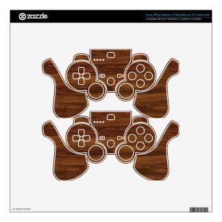 Wood Hood Skin For PS3 Controller