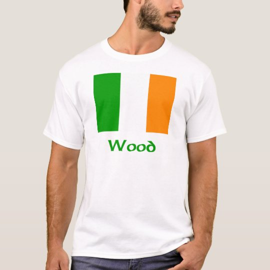 Wood Irish Flag T-Shirt