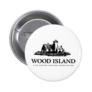 Wood Island Life Saving Station Assoc Pinback Button