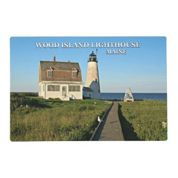 Wood Island Lighthouse Maine Placemat