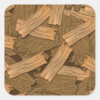 wood.jpg square sticker