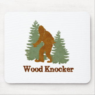 Wood Knocker Squatch Mouse Pad