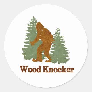 Wood Knocker (Squatch) Sticker
