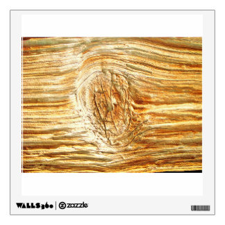Wood Knot Surface Wall Graphics