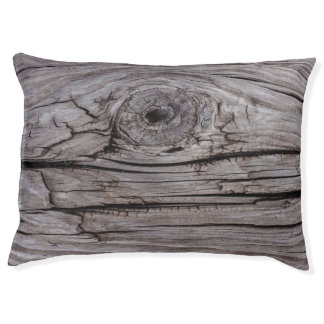 Wood Knot Wood Texture Pet Bed