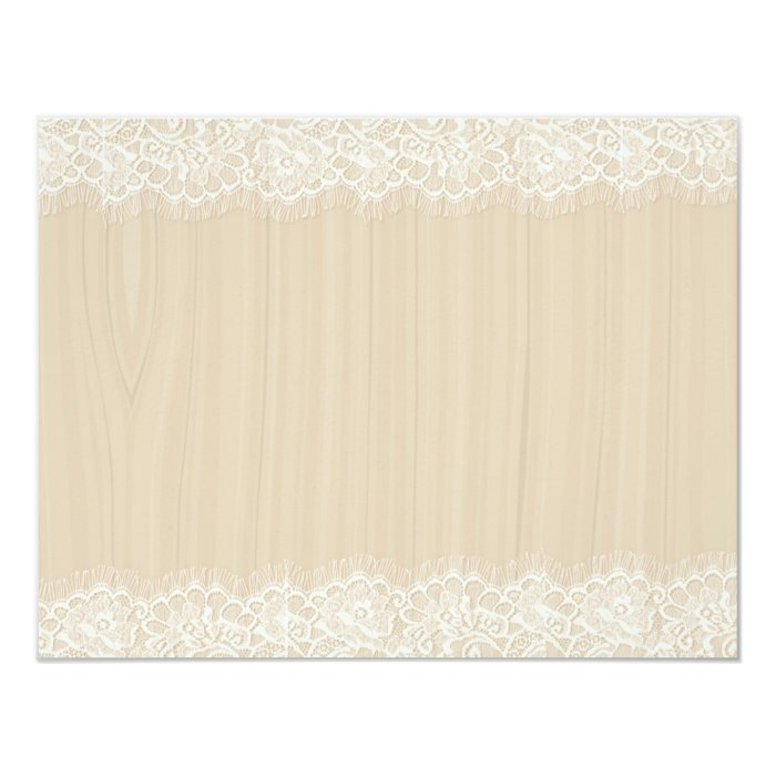 Wood & Lace Note Cards