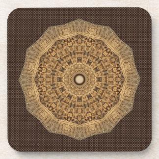 Wood like Carvings Drink Coaster