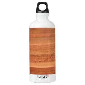 Wood Lines Aluminum Water Bottle