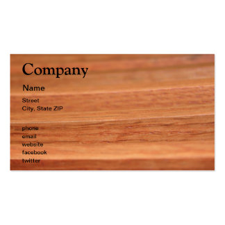 Wood Lines Business Card