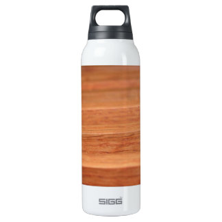 Wood Lines Thermos Water Bottle