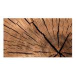 Wood Log Business Card Templates