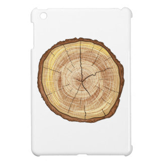 Wood Log Cover For The iPad Mini