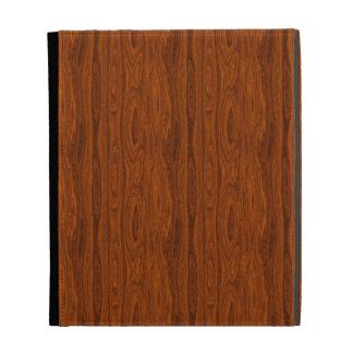 Wood Look iPad Folio Cover