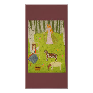 Wood Maiden Card