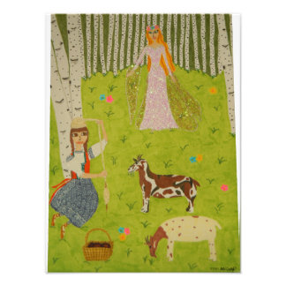 Wood Maiden Photo Print