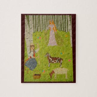 Wood Maiden Puzzle