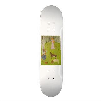 Wood Maiden Skateboard