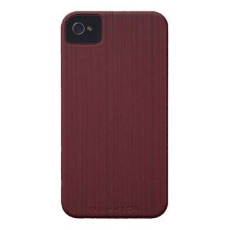 Wood - Masculine Mahogany Blackberry Case