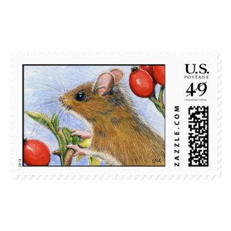 Wood Mouse II Postage