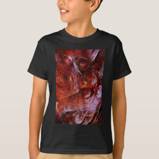 wood Natural Brown Texture Style Fashion Art Creat T-Shirt
