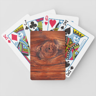 Wood Node Texture Playing Cards