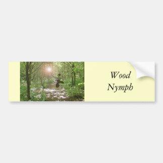 Wood Nymph Bumper Sticker