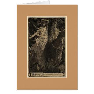 Wood Nymph Card
