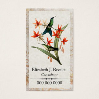 Wood Nymph Hummingbird Personal Business Cards