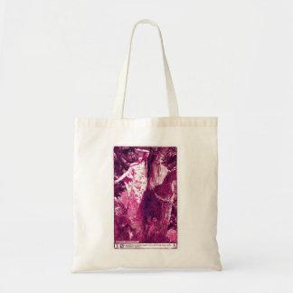 Wood Nymph Tote - Magenta Budget Tote Bag